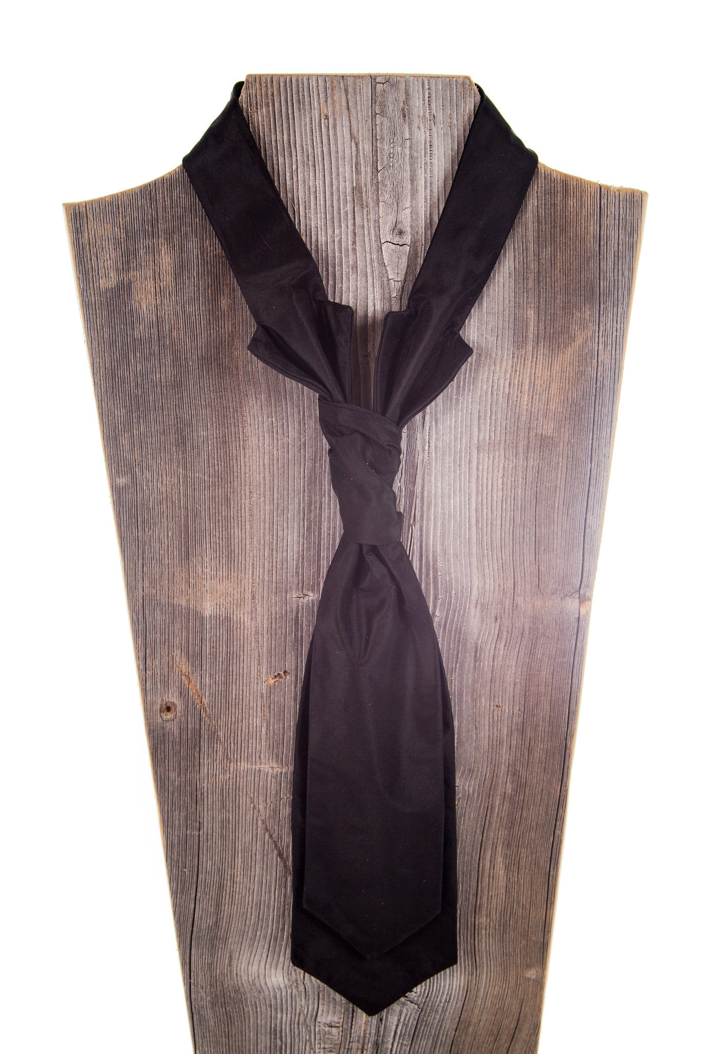 Black Silk Taffeta-Fabric by Carolina Herrrea