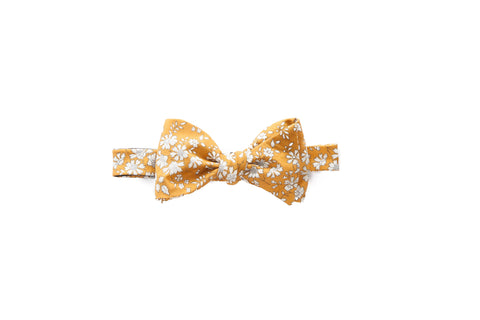 Liberty of London Mustard Lawn Bow Tie