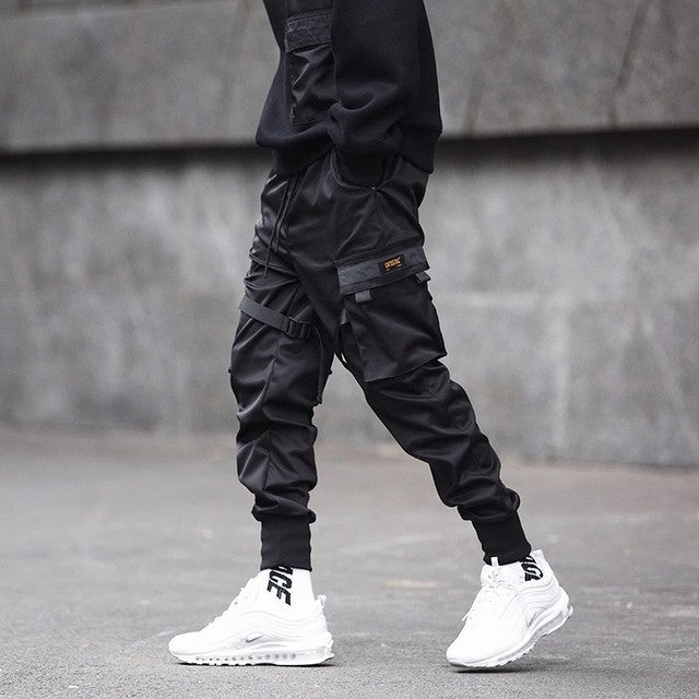 Men Black Pants
