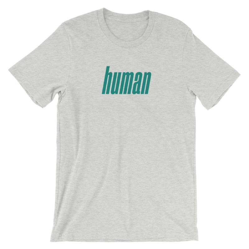 Retro Human T-Shirt (Athletic Heather)