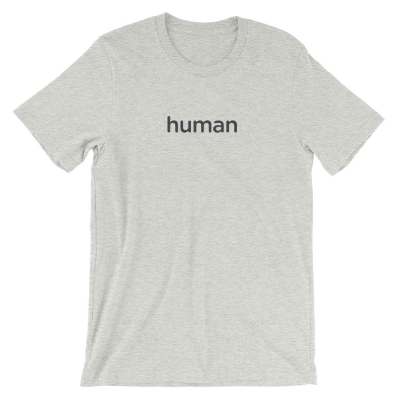 The Human T-Shirt (Athletic Heather)