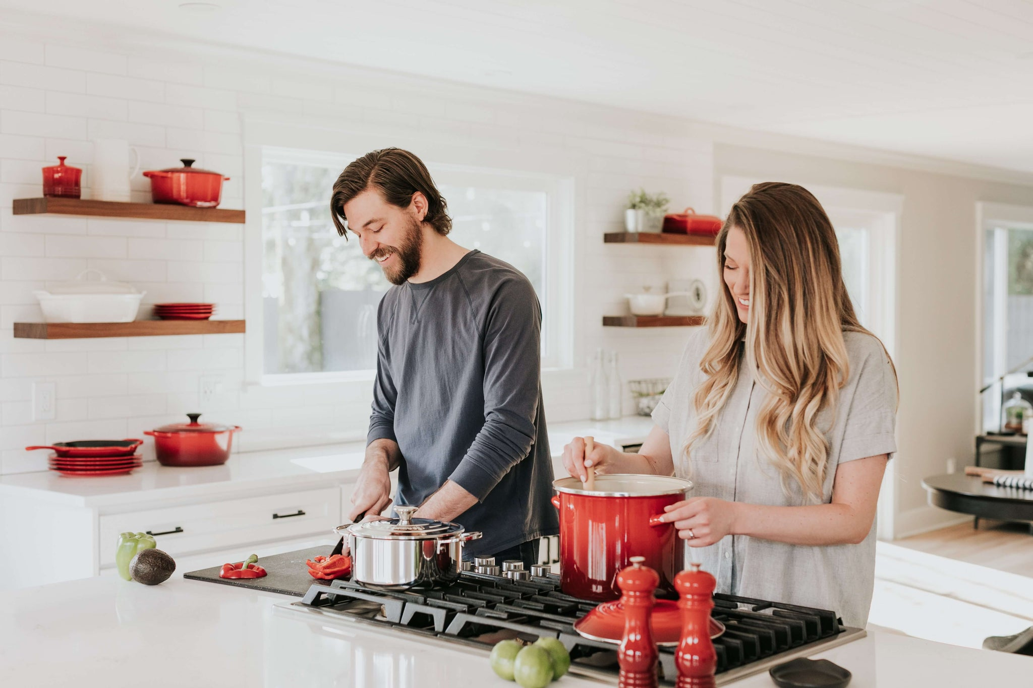 Couples in the kitchen