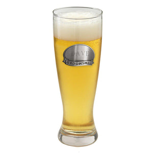 Personalized Grand Pilsner w/Pewter Medallion