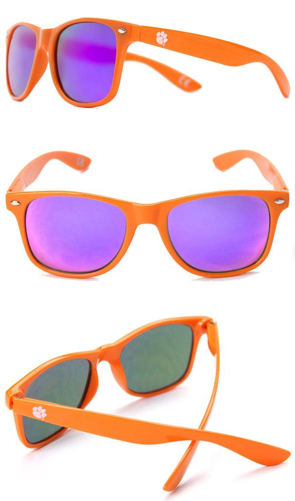 Clemson Sunglasses - Orange