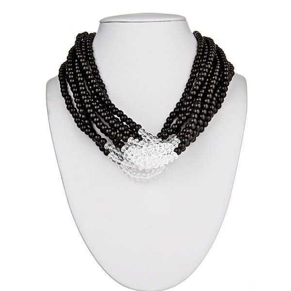 Black & Clear Necklace