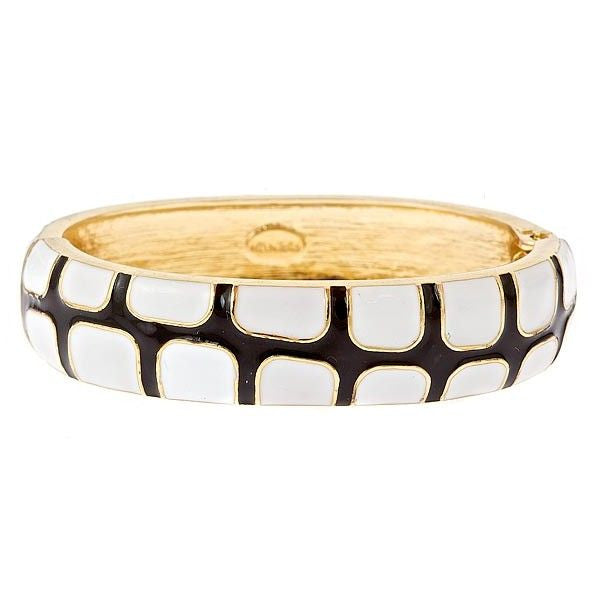 Black & White Bangle