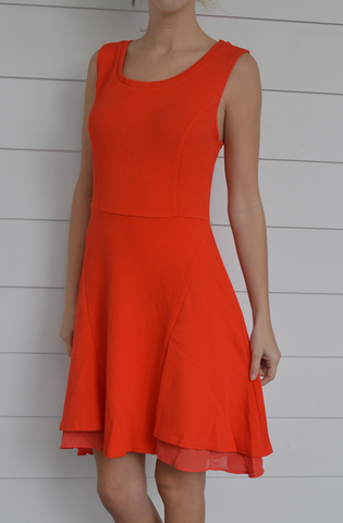Orange you glad it's Saturday Dress