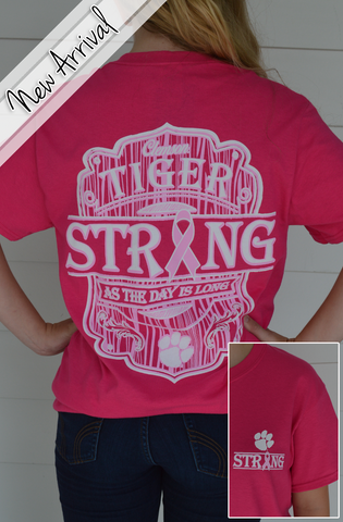 Clemson Breast Cancer Awareness Tshirt