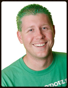 Zach's Wax Extreme Coloring Gel Green Hair