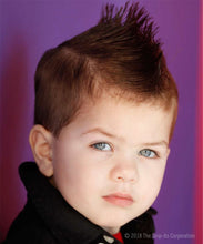 Load image into Gallery viewer, Funky Spiker Hair Style - Brunette boy
