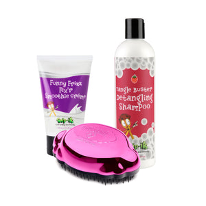 Snip-its and Knot Genie Trio Bundle Metallic Pink Brush