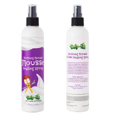 Morning Miracle Mousse Front & Back Main