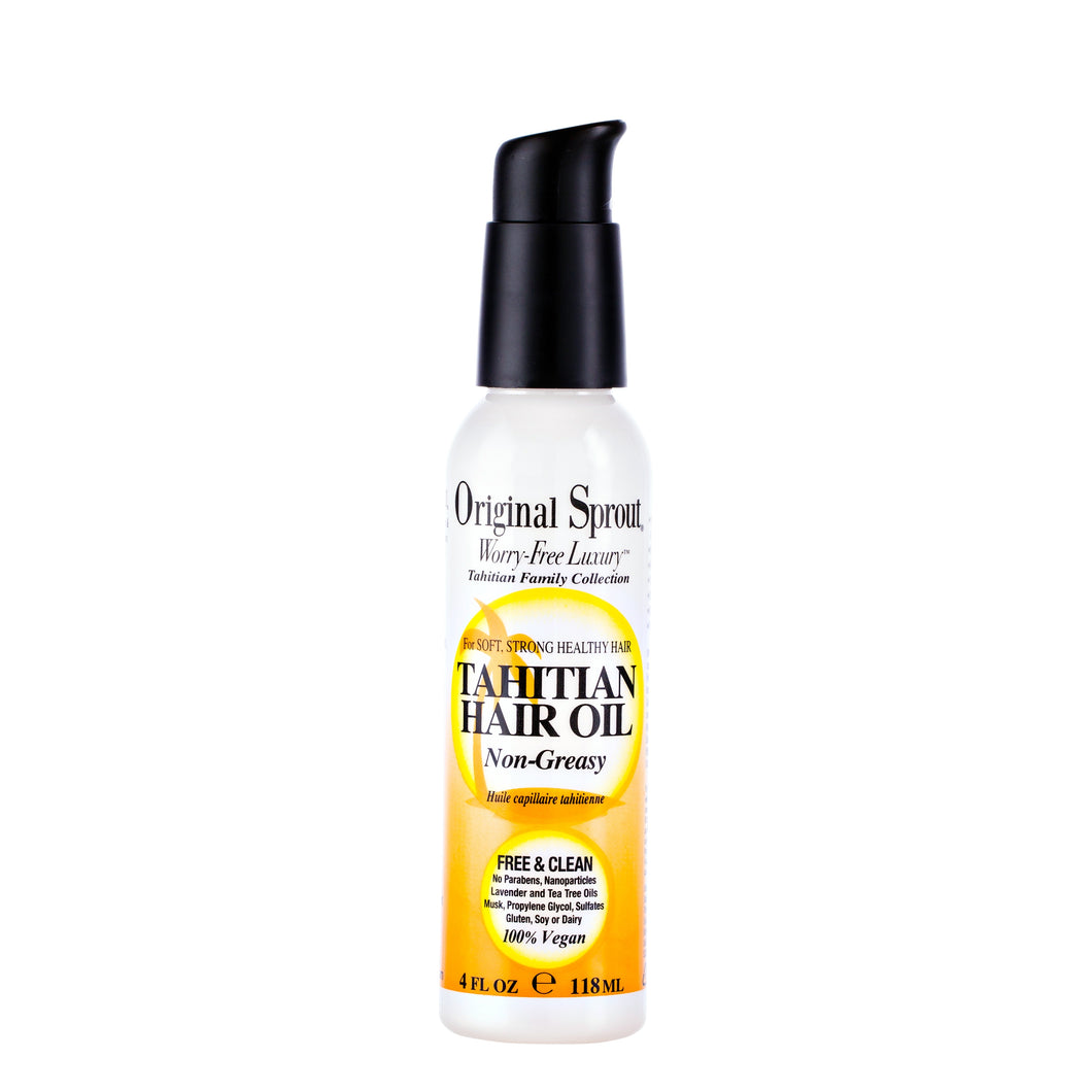 Tahitian Hair Oil 4oz Spray Bottle MN