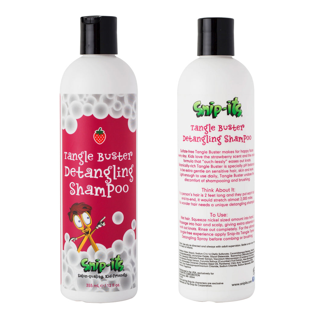 Tangle Buster Shampoo Front and Rear Main Image