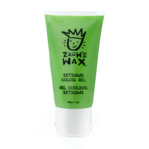 Main Zach's Wax Extreme Coloring Gel Neon Green