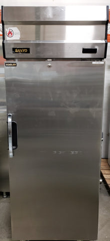 Sanyo SRR-23FD-MED Stainless Steel Laboratory Refrigerator (Pre-owned) - LEI Sales