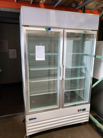 Metalfrio glass 2-door laboratory -20 freezer - LEI Sales
