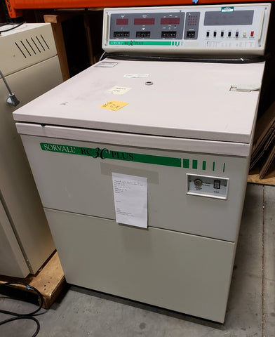 Sorvall RC-3C Plus refrigerated floor model centrifuge with H-6000 rotor (Pre-owned) - LEI Sales