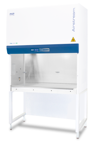 ESCO Model AC2-6S9-NS 6 foot Class II Type A2 biological safety cabinet with UV light and stand (New from Manufacturer) - LEI Sales
