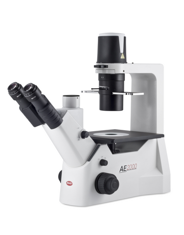 Motic AE2000 Trinocular Inverted microscope with 3MP camera package (NEW) - LEI Sales