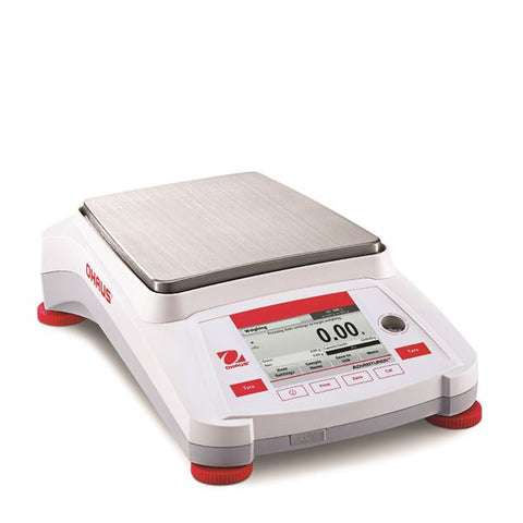 Ohaus AX5202 Adventurer Toploading Balance (5200g x 0.01g) with internal calibration (NEW) - LEI Sales