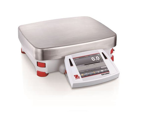 Ohaus EX12001 AM Explorer High Capacity Balance (12 kg x 0.1 g) with internal calibration (NEW) - LEI Sales