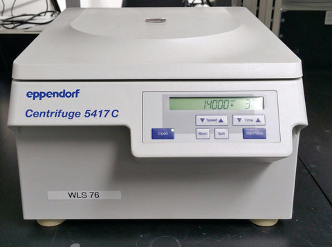 Microcentrifuge:  Eppendorf 5417C with rotor (Pre-owned) - LEI Sales