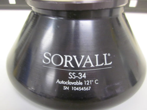 Sorvall SS-34 (8 x 50ml) fixed angle rotor (Pre-owned) - LEI Sales