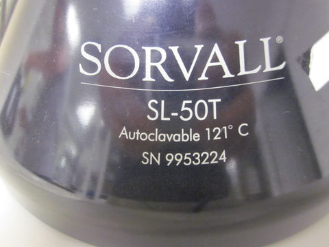 Sorvall SL-50T (8 x 50ml) fixed angle rotor (Pre-owned) - LEI Sales