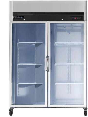 Life Science Model LSP-RG49-CH double door, glass door chromatography refrigerator NEW - LEI Sales