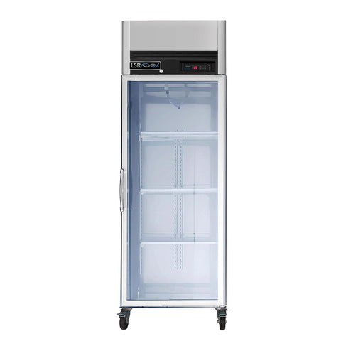 Laboratory refrigerator:  LSRP-GR-23 Premium single glass door 23 cu. ft refrigerator - LEI Sales