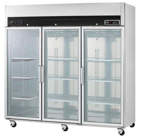 Chromatography refrigerator:  LSRP-RG-72-CH triple glass door 72 cu. ft refrigerator (NEW) - LEI Sales