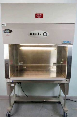 NuAire NU629-400 4 foot A2 Biological safety cabinet with rolling stand (Year 2010) - LEI Sales