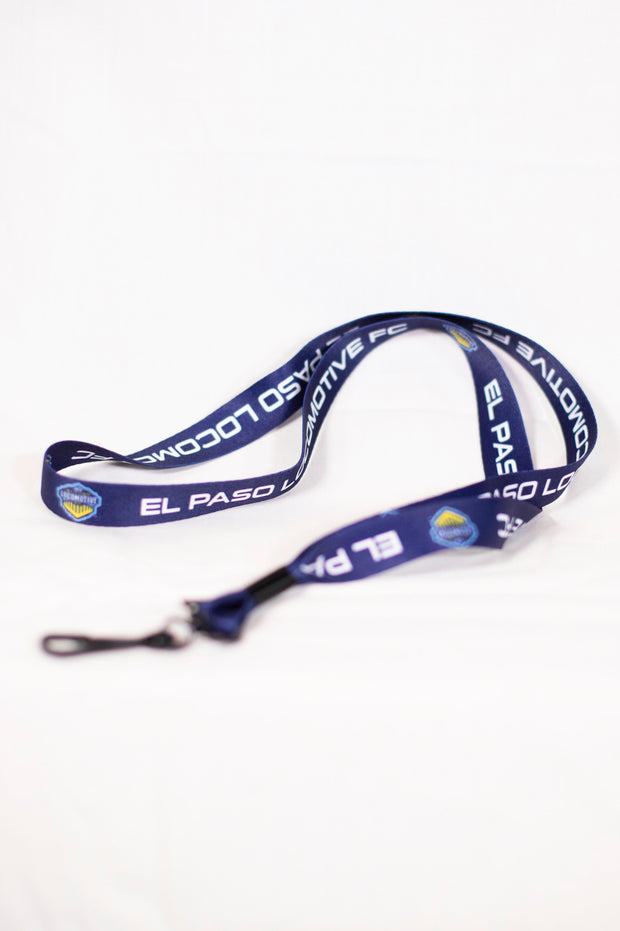 Locomotive Lanyard - Navy
