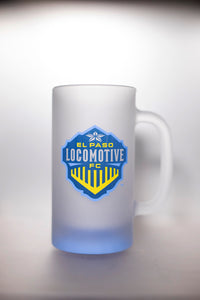 Locomotive Frosted Tankard