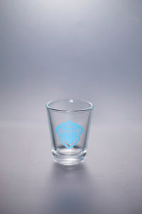 Locomotive Shot Glass