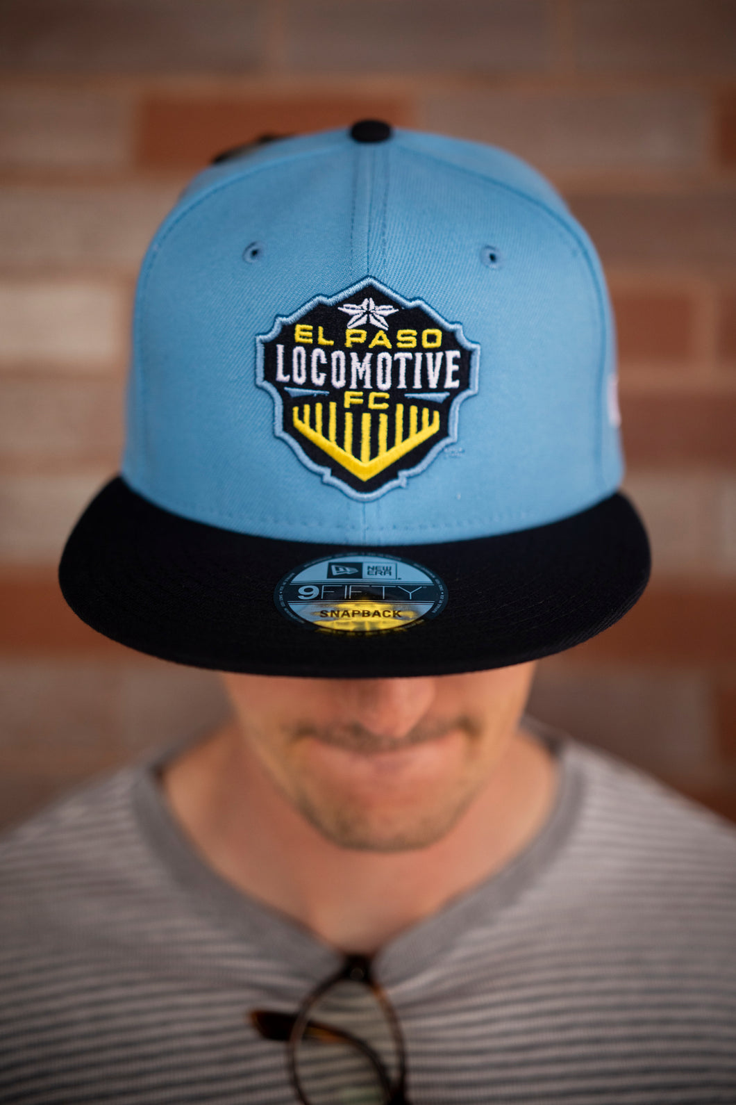 950 Two Tone Hat - Sky blue