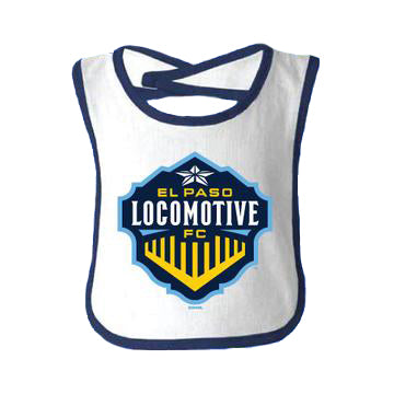 Locomotive Velcro Bib
