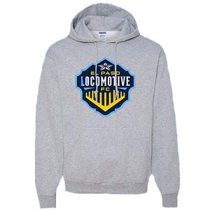 Locomotive Heather Hoodie - Gray