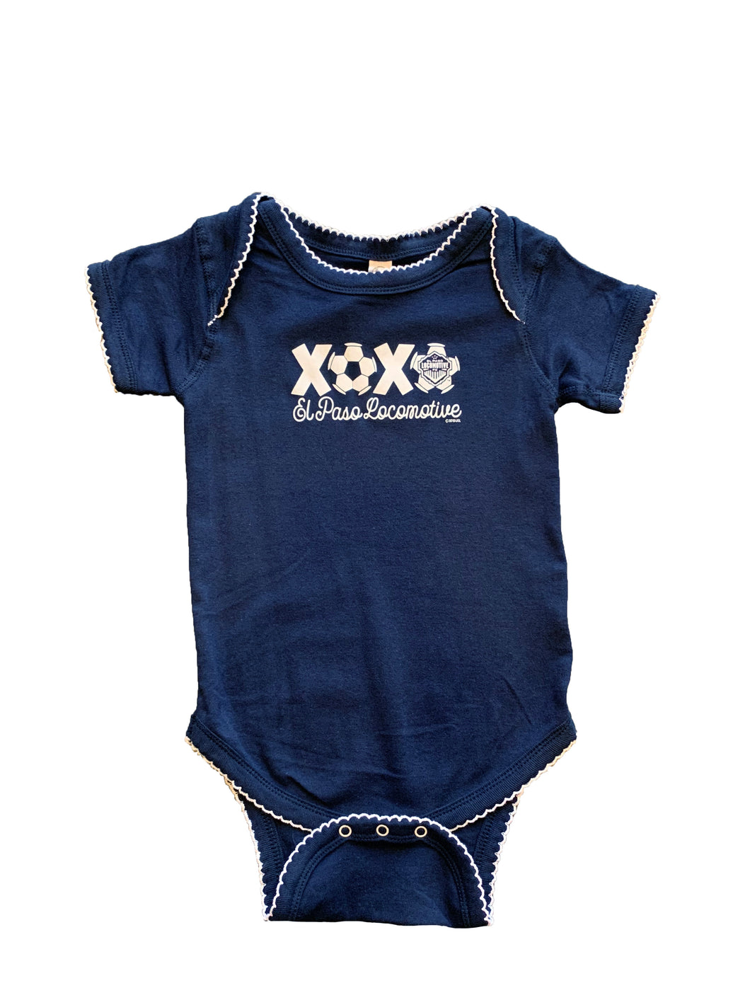 XOXO Onesie With Soccer Ball