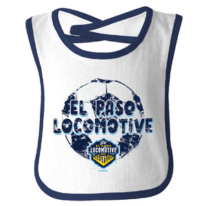 Locomotive Contrast Bib