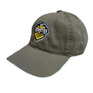 Locomotive Adjustable Hat - Charcoal