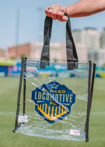 Locomotive Clear Tote