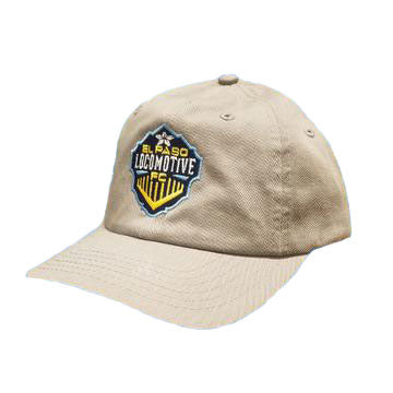 Youth Locomotive Adjustable Hat - Gray