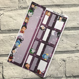 Villains (can change month)   Monthly View Kit for the Erin Condren Planners