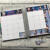 July Galaxy Monthly View Kit (can change month) for the Erin Condren Planners
