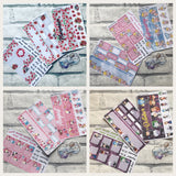 Choose your own, 6 Monthly View Kits (can choose months) for the Erin Condren Planners