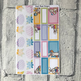 April (can change month) Easter Monthly View Kit for the Erin Condren Planners