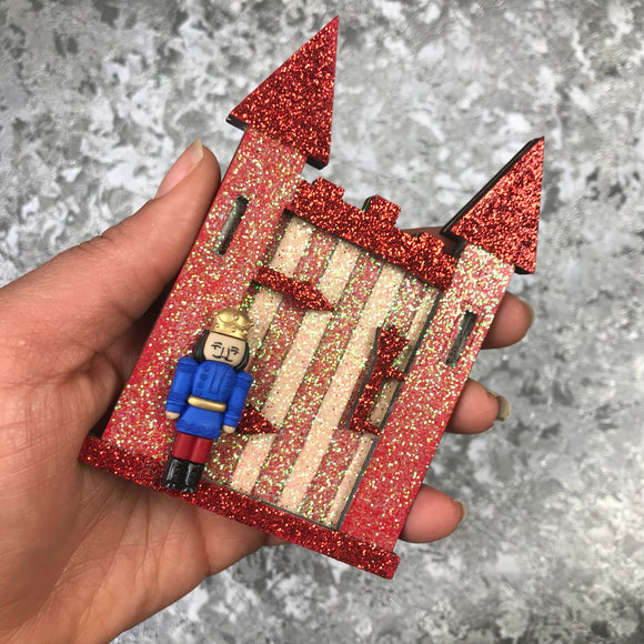 Sparkly Christmas Fairy / Elf castle door