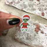 Christmas Zombabe sticker for planners (ZB19)